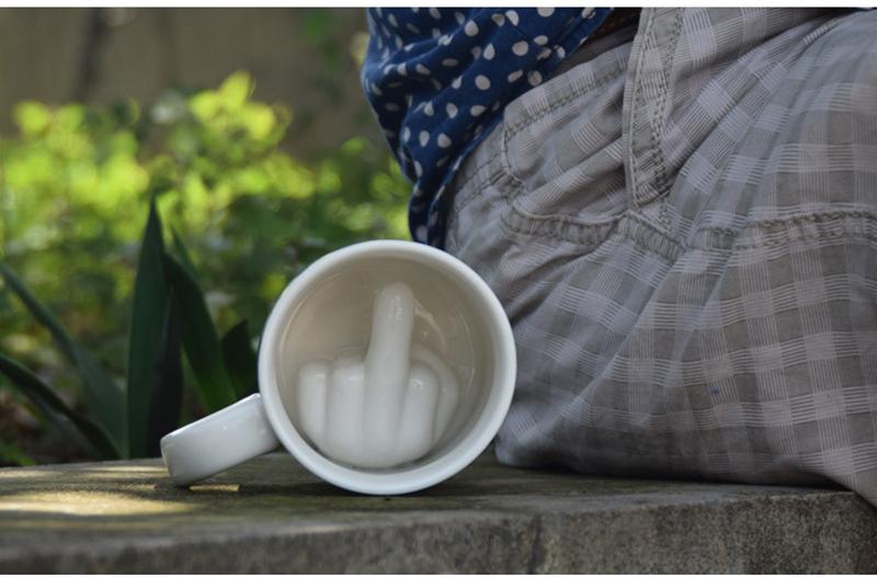 Middle Finger Up Mug ENE TRENDS