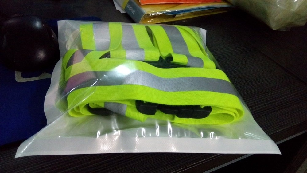 customized cheap 3m blue mesh fabric reflective safety vest
