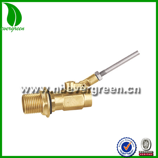 High quality auto fill water float valve brass float valve