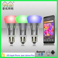 E27 Mini Group controlled Bluetooth smart/intelligent LED light bulbs