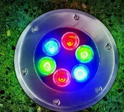outdoor recessed floor light IP65 rgb 15w stairs led underground light