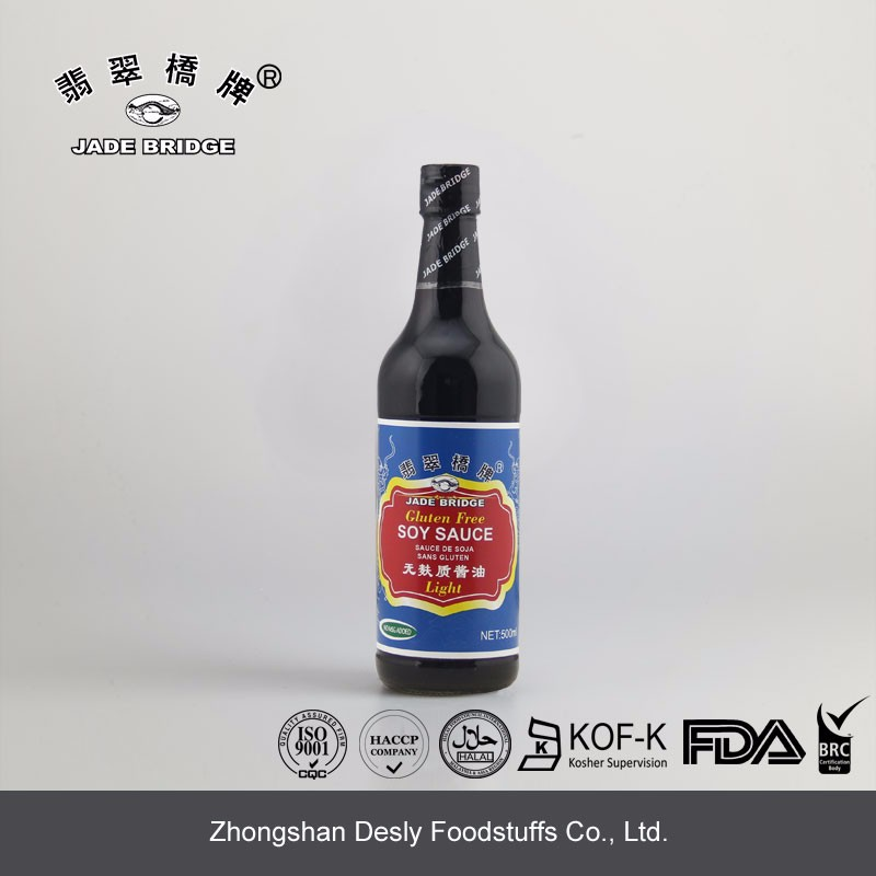 Chinese Superior Light soy sauce gluten free NON-MSG