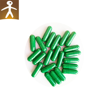 Green Series Safety gelatin empty capsule SIZE 0