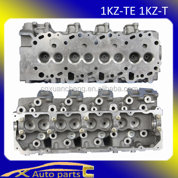 used auto parts for toyota 1kz-te cylinder head Land Cruiser 4-Runner Hilux 1KZ-T 8v