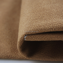 bronzed & embossed fabric, poly fdy adhesive knit microsuede fabric by the yard
