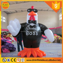 2017 Advertising inflatable chicken mascot for sale C-52