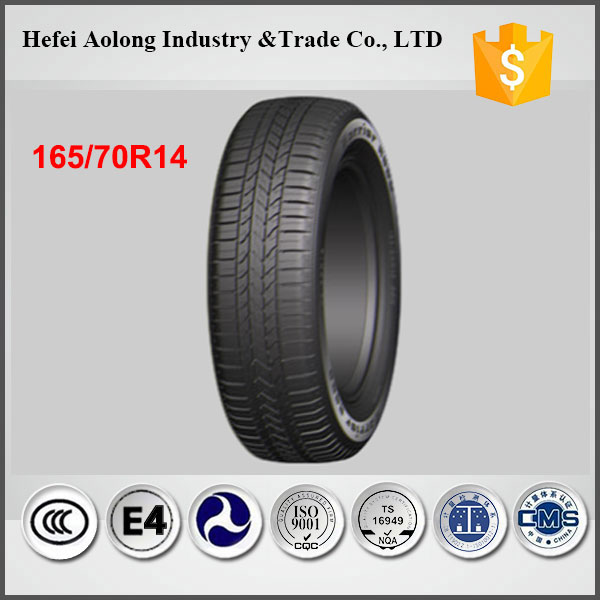 China Top Brand Car Tires with Best Rubber, 165/70R14 Wholesale Car Tires