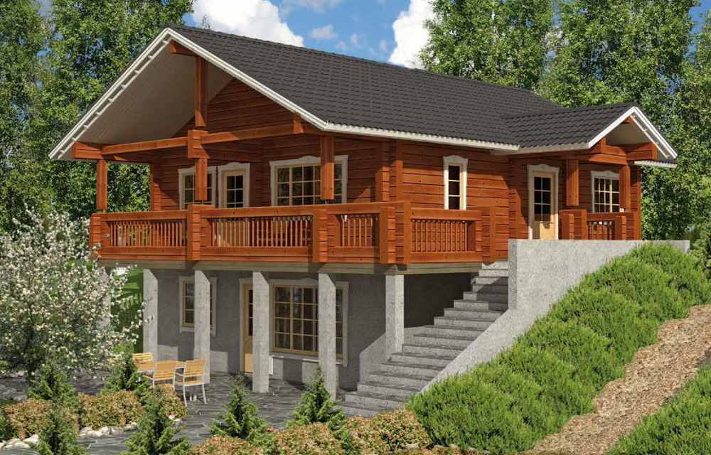 High quality insulated wood home quick build houses kit homes made in china