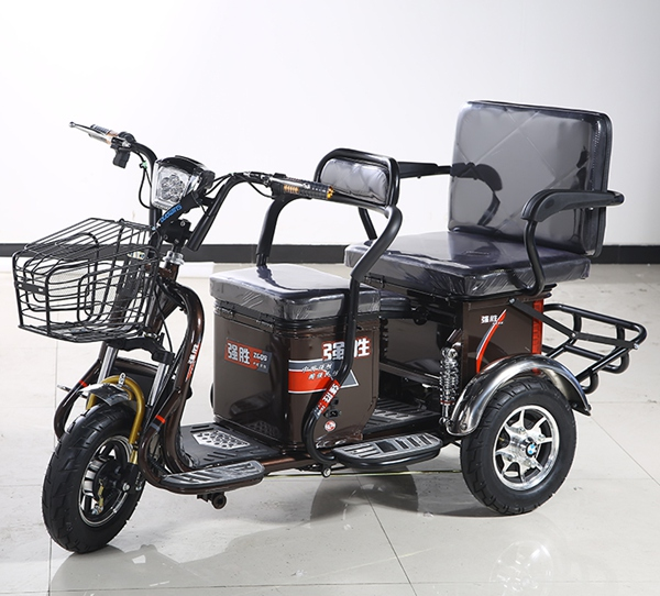 New three wheel adult electric cargo tricycle bike