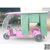 tuk tuk taxi Passenger Use For and Open Body Type cheap electric tricycle