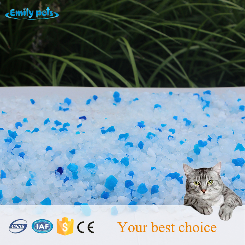 Silicone Crystal Cat Litter
