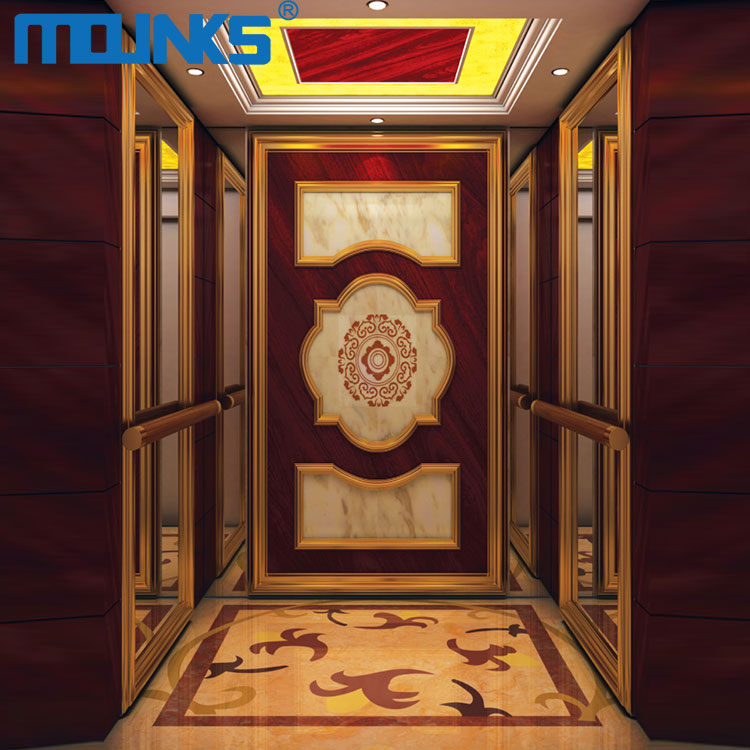 Low cost Hotel building passenger small home elevator price