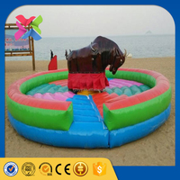 Funfair outdoor model funfair ride mechanical rodeo bull price for sale