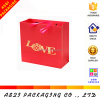 made in china custom luxury goodies bag for wedding