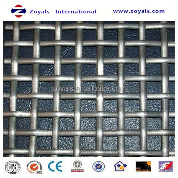 crimped wire mesh used in round shape or square shape korean barbecue grill crimped wire mesh Exporter ISO9001