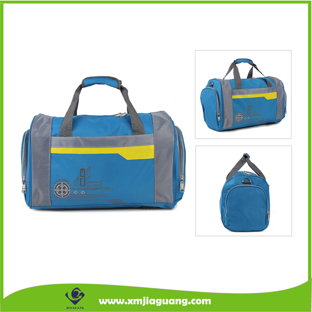 Polyester Travel Duffle Bag Sports Gym Bag Hand Luggage Bag