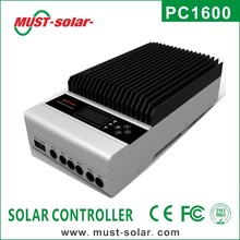 <Must Solar> New Arrive! PC1600A series 99% High efficiency 45A/60A 12v MPPT solar charge controller for PV system