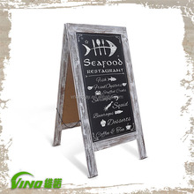 wooden blackboard , wooden chalkboard with stand in blackboard , a-stand blackboard , blackboards for restaurants
