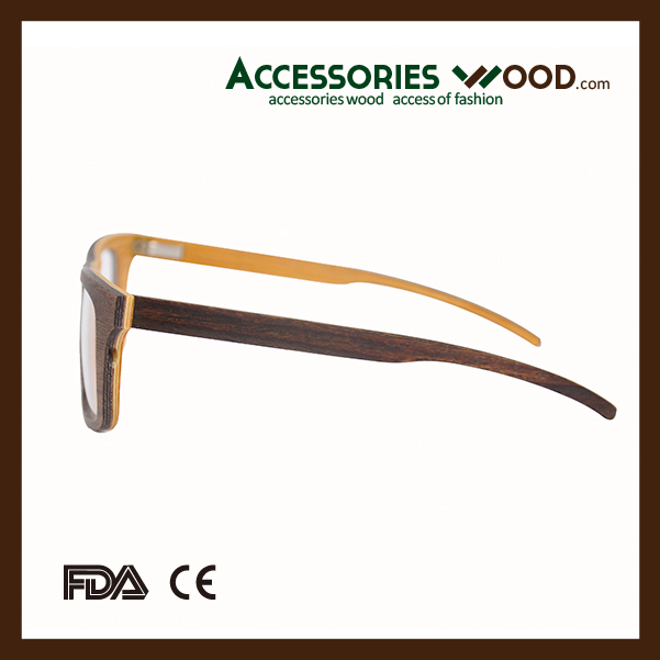 2016 new Wood optical glasses frames reading eywear with logo