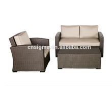 Sigma cheap wicker furniture garden table set outdoor sofas
