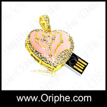 Beautiful gift,cute mini kids usb flash drive from Oriphe