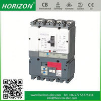 YHM3 nf cp 4p 630a mccb moulded case circuit breaker