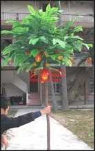 high simulation artificial cocoa tree, good quality cacao tree with seeds