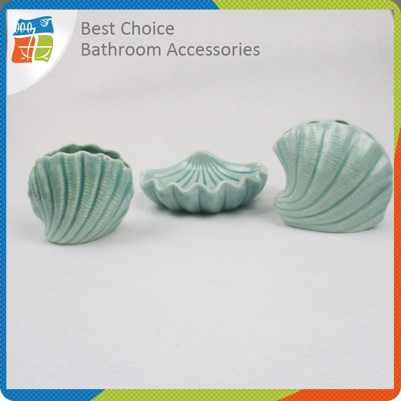 well know seashell bathroom accessories