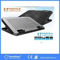 Aluminum & Plastic Material notebook cooling pad Stock Products Status Adjustable laptop cooler