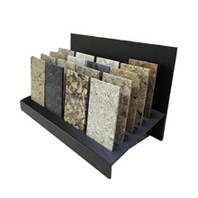 Tabletop Customized Logo Stone Tile Small Sample Acrylic Display Rack