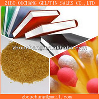 Gelatin glue for binding book cover