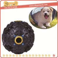 New premium plastic toy ball for pet ,p0wxa giggle treat ball dog toy for sale