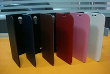 stand leather case flip cover for samsung galaxy s4 i9500,holder case for samsung s4