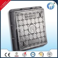 Square 350*350 EN124 Fiber Glass FRP Composite Manhole Cover