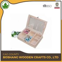 Custom Wooden Wine Gift Set Cosmetic