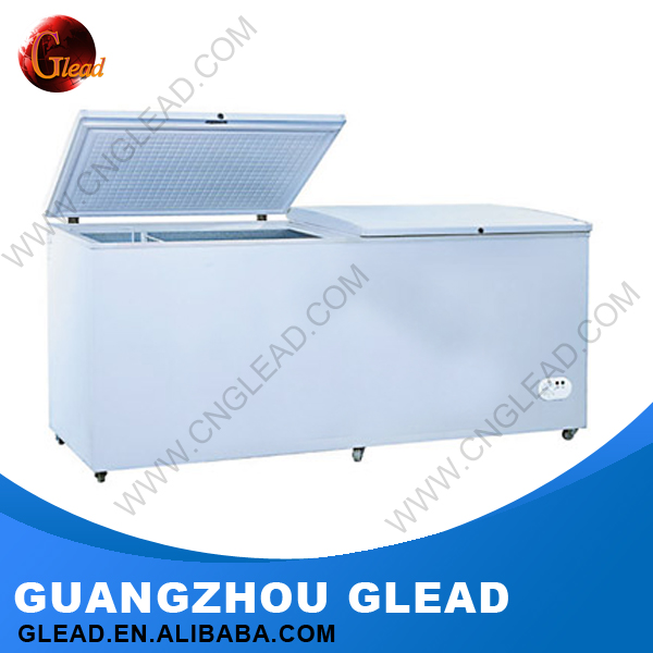 300L/580L/680L Stainless steel Commercial Upright/Chest deep freezer