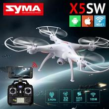 SYMA 2.4G 4CH WIFI HD 0.3 MP Camera x5sw drone remote control