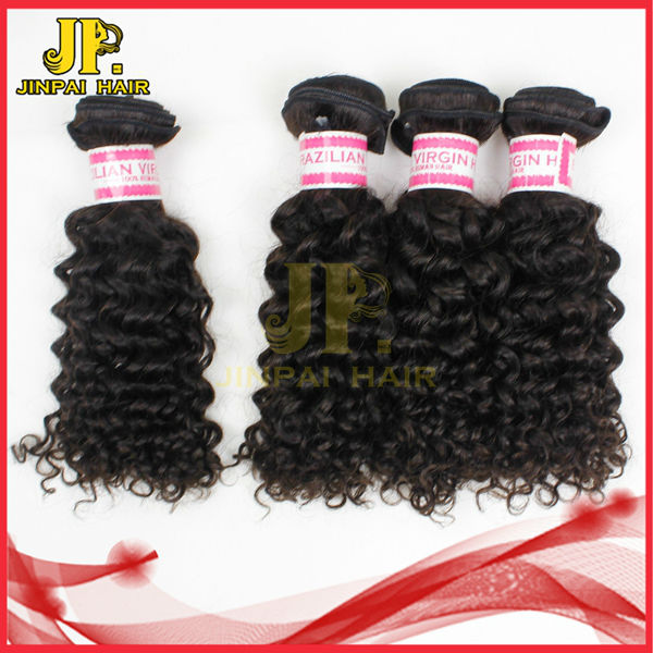 JP Hair Long Lustre and Soft Cuticle Human Virgin 5A Brazilian Tight Curly Hair