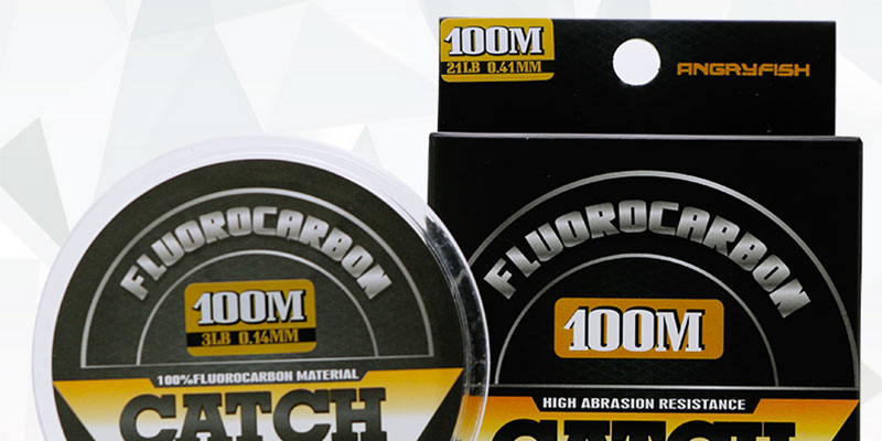 New Items 100% Carbon Line Super Strong Fluorocarbon Fishing Line 100M Transparent