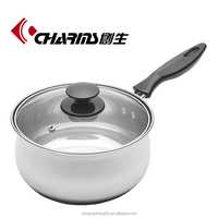 Charms stainless steel induction mini cooking pot