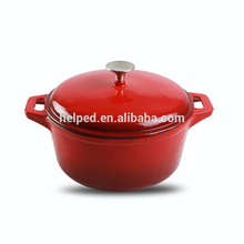 Hot sale enamel cookware height pot set stewpot