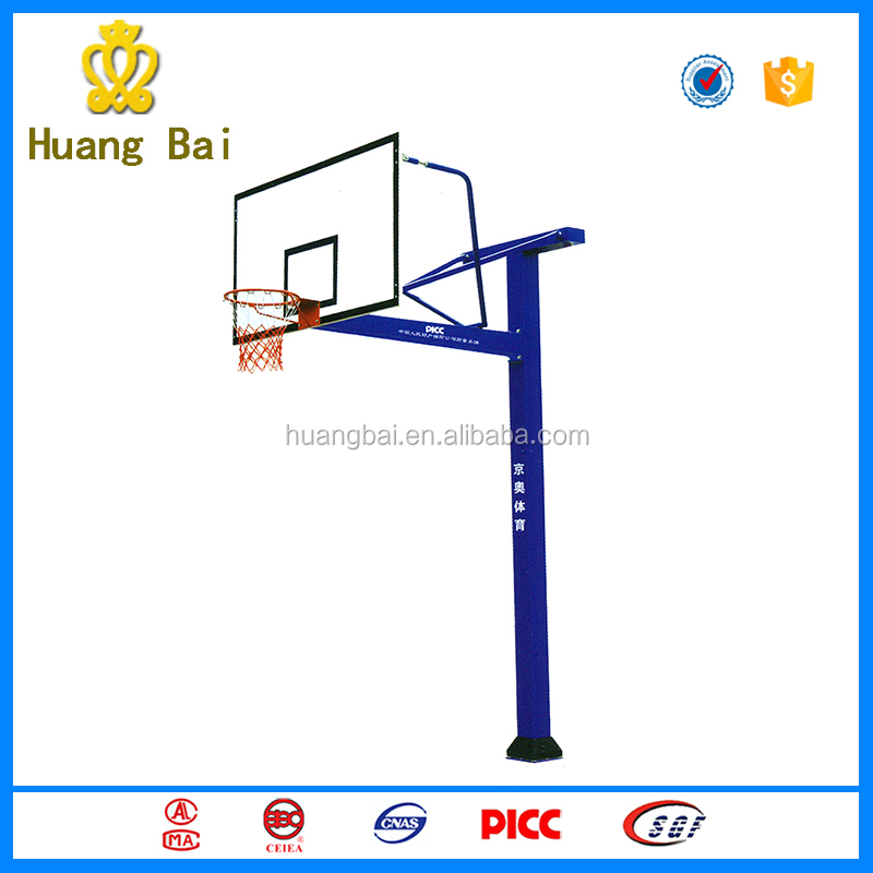 outdoor fitness equipment /Land-buried backboard