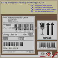 OEM/ODM adhesive label sticker printing, professional printing packaging sticker in rolls