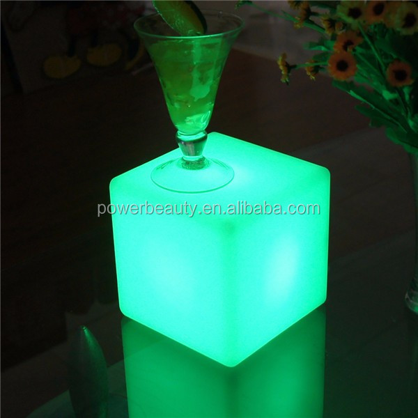 ice 3d outdoor solar mini rgb 10x10x10 seat lighting led cube light