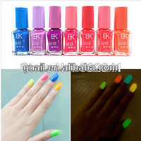 New 12 Colors 15ml Fluorescent Neon Nail Polish Glow In The Dark