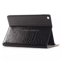 High quality Crocodile pattern PU Leather Case for iPad Air 2