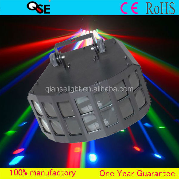2*10W American Quad LEDs Professional Stage Disco/DJ Night Club Star Projection Night Light