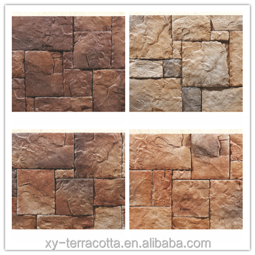 Natural Wall Stone Stack Panel Interior Cultured Stone faux stone panels