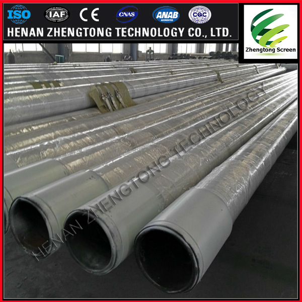 perforated stainless steel tube high quality bridge slotted screen pipe