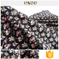 Printed women garment cheap China exporter cotton fabric